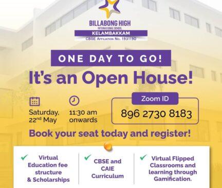 Open House Webinar