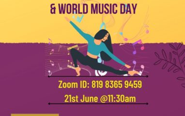 International Yoga Day and Music Day 2021