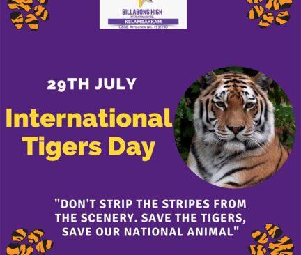 International Tiger's Day - 2021
