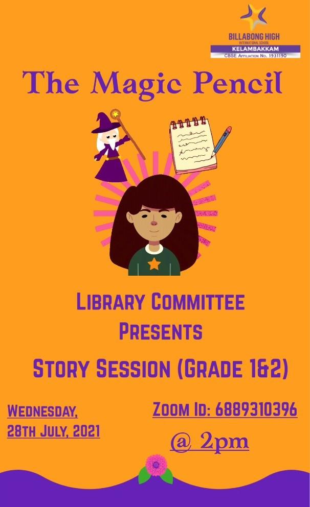 Story Session (Grade 1&2)