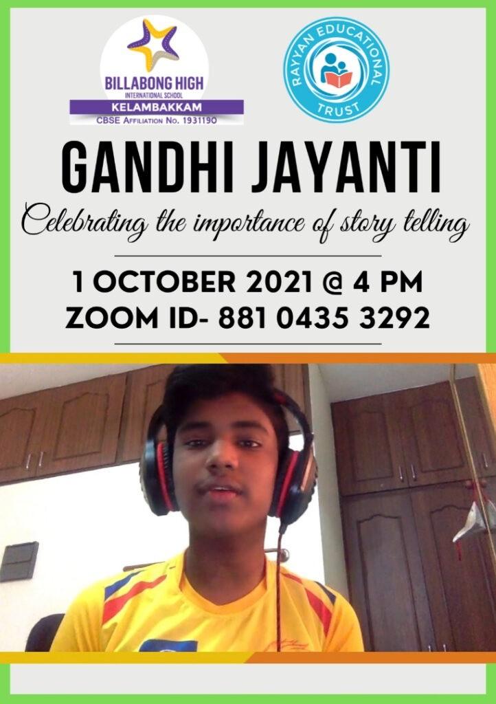 Gandhi Jayanthi 2021